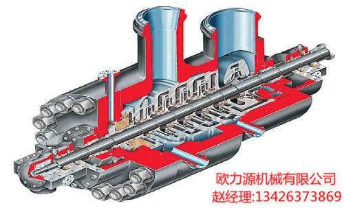 离心式空压机结构图