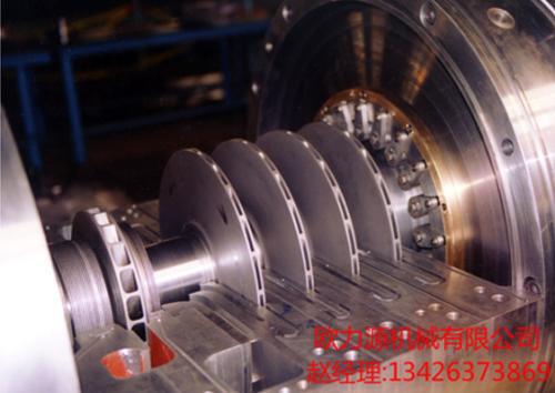 ④离心式压缩机为一种回转式运动的机器,它适宜于工业汽轮机 或燃图片